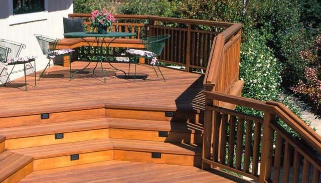 Continuous 2x6 top with 2x4 balusters deck railing for What is a 2x6