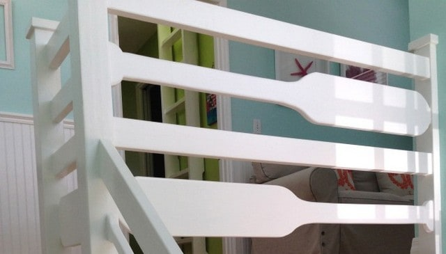 Oar-Stair-Railing