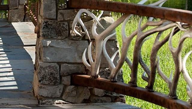 antler-railing