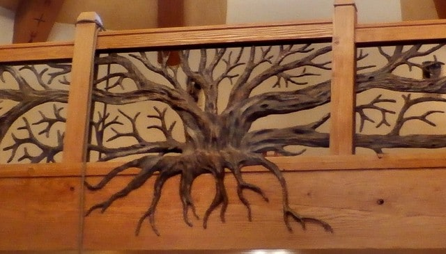 forged-bronze-tree-railing