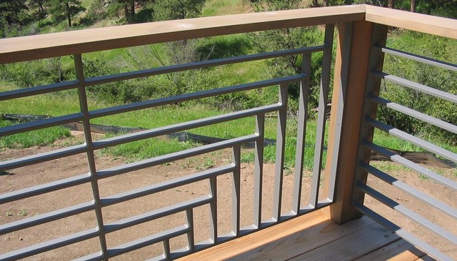 how to clean white aluminum railings