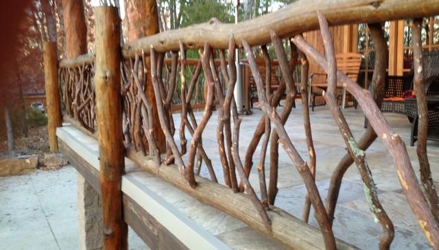 moss-log-railing