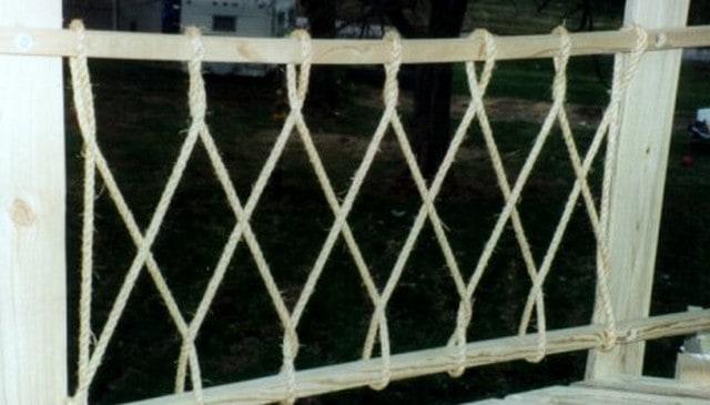 Rope Diamond Railing