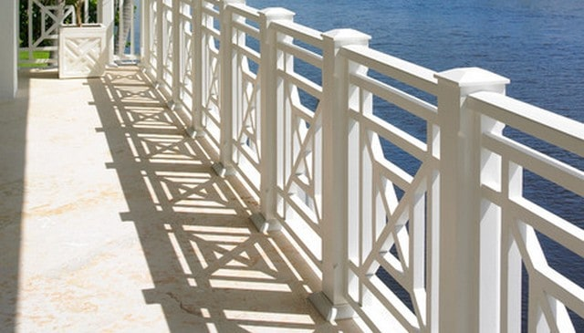 Tropical Porch X Railing Deck Railing Mountain Laurel