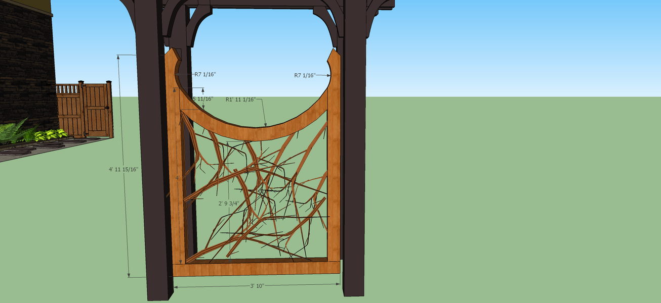 Initial Gate Plans