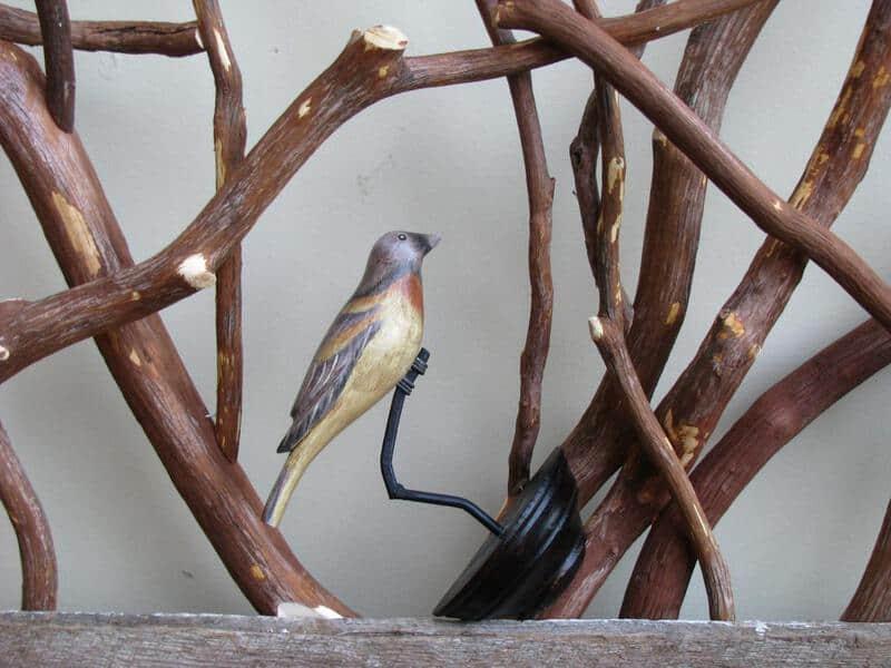 Bird in Railing