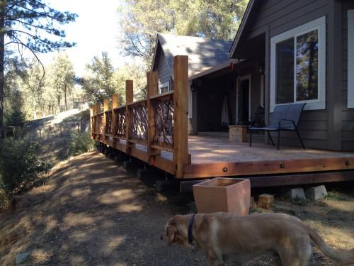 Cali Deck Railing