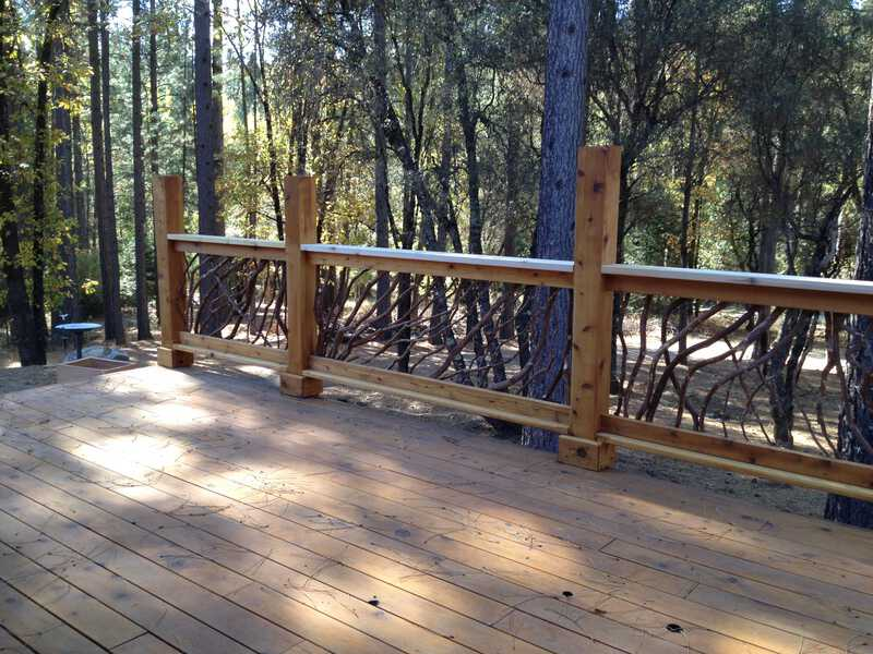 California Deck Railing