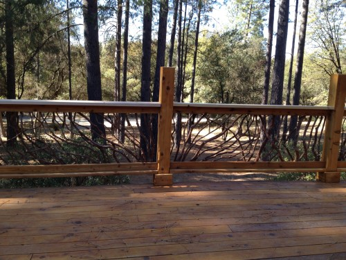 California Rustic Railing