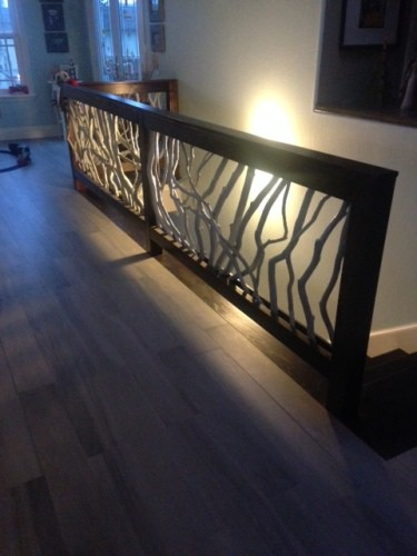 Painted Branch Mountain Laurel Handrail