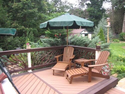 Deck Handrails