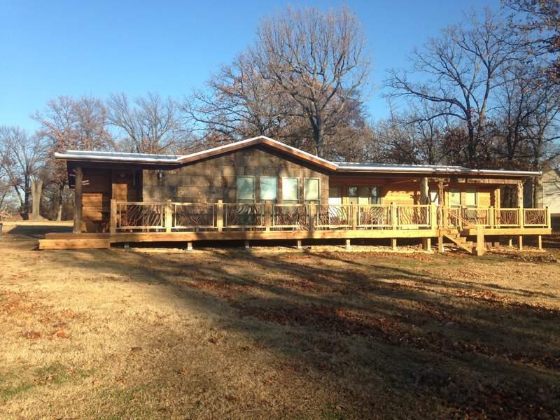 Oklahoma Deck Railing