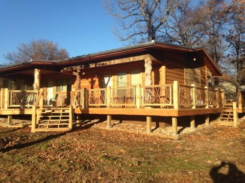 Oklahoma Porch Railing