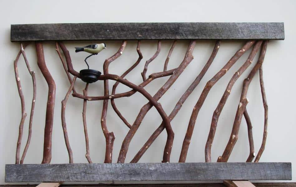 Rustic Barn Wood Handrail