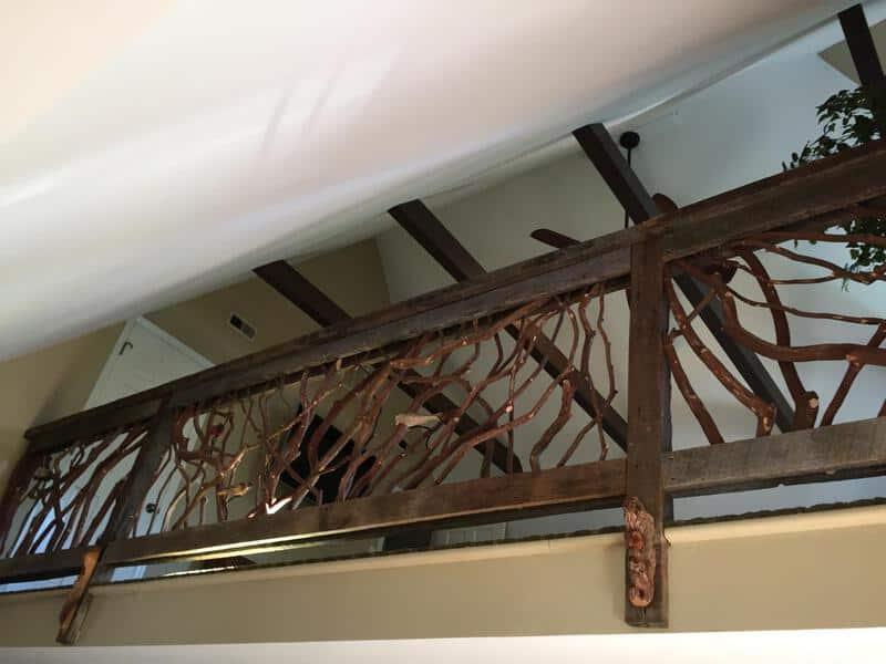 Unique Balcony Handrail