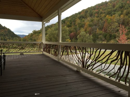 West Virgina Deck Railing