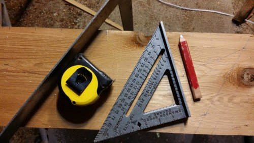 3-tools-for-marking Cedar Framed Gate