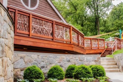 NIH Playground Handrail