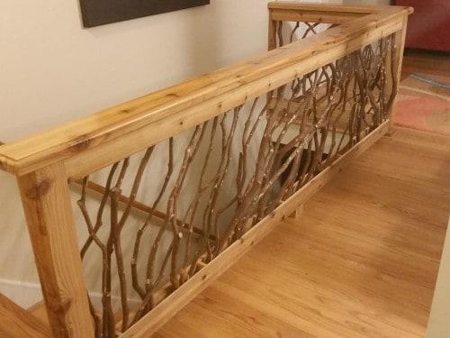 Interior Wood Railing1