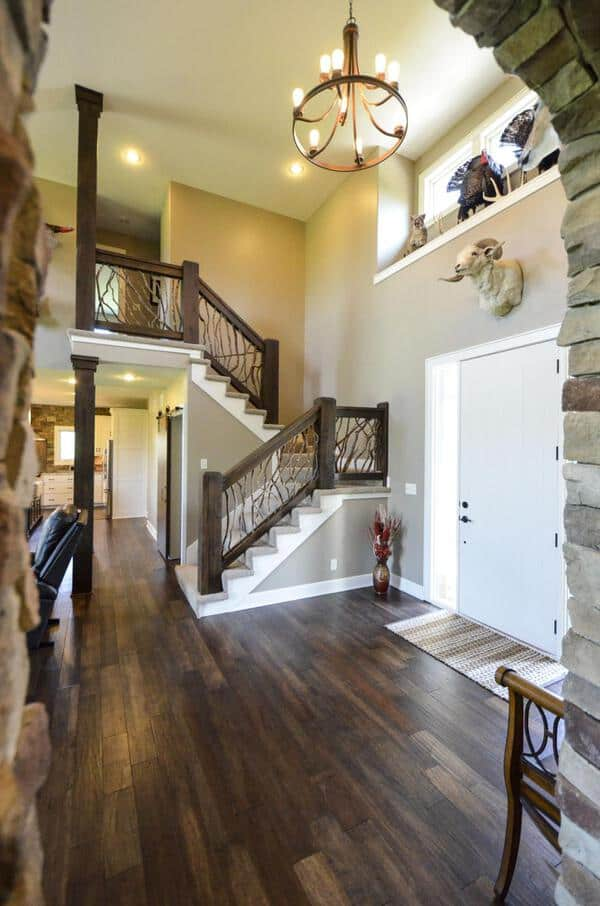 Contemporary Stair Railing