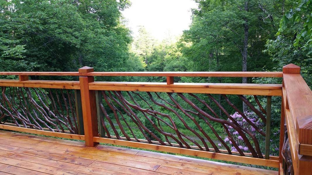 Vermont Deck Railing1