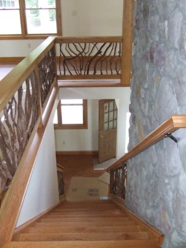 Stair Railing Wood
