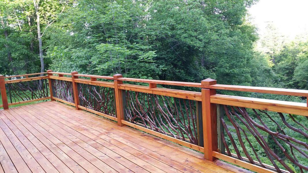 Vermont Deck Railing