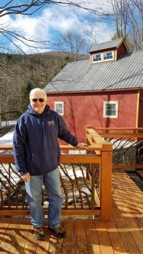 Proud Owner of Mountain Laurel Handrail
