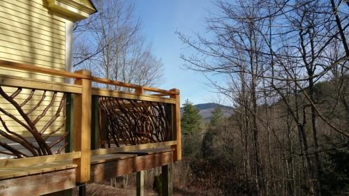 Vermont Rustic Railing
