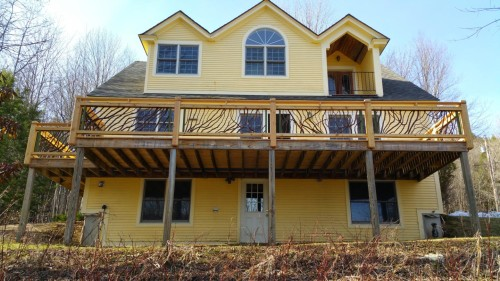 Wood Railing Vermont