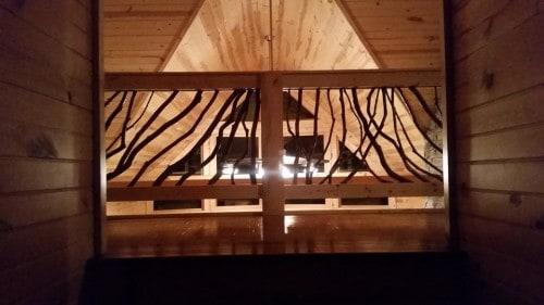 Balcony Railing Lighted