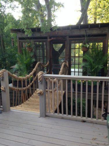 Atlanta Georgia treehouse entry