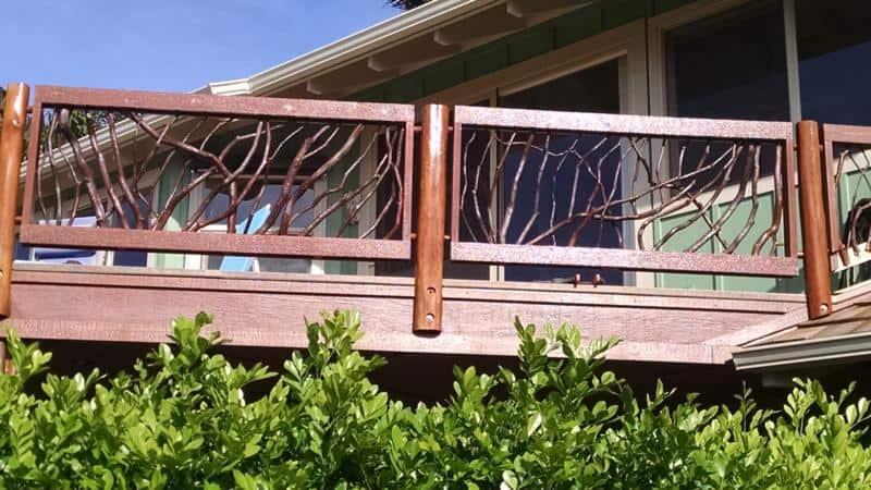 Deck railings Hawaii