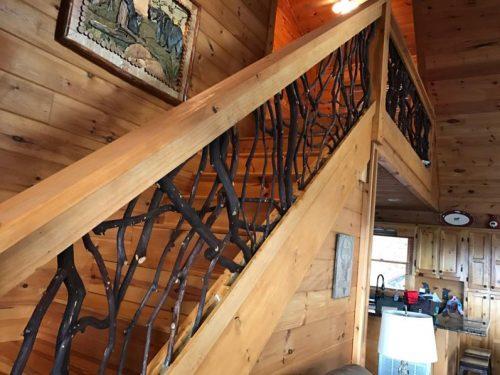 Marietta Georgia stair railing