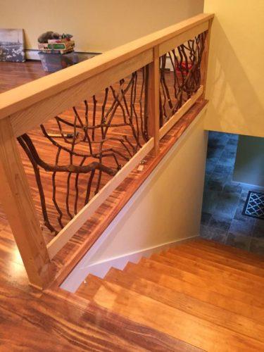Mountain Laurel handrail stairs guard