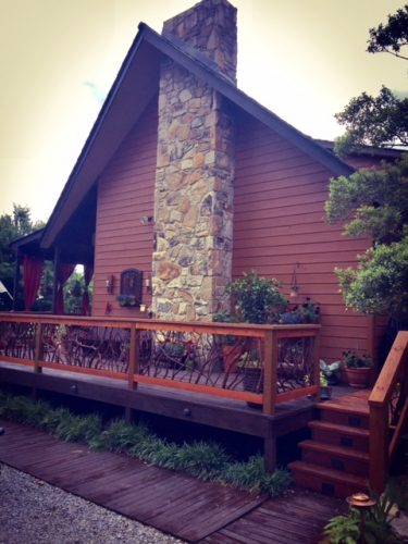 Tennessee Mountain Laurel handrails