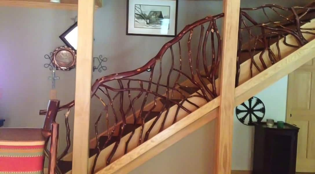 12-rustic-laurel-stair-rail