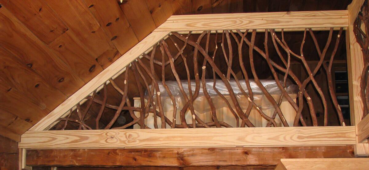Custom shape railing