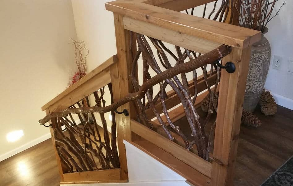Mountain Laurel Banister Railing
