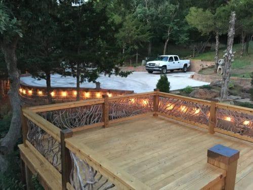 Big Deck Railing