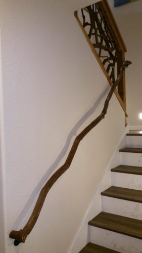 Branch Banister Staircase