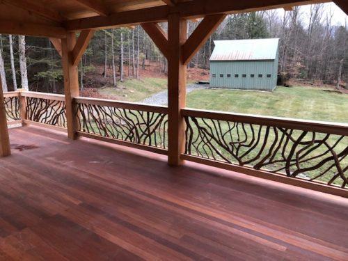 Bucolic Setting Porch View