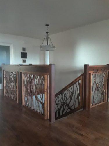 California Stairwell Handrail