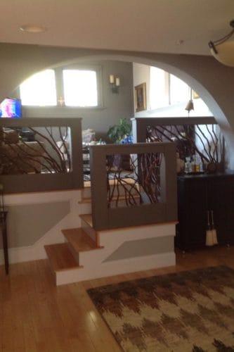Elegant Loft Handrail Indoors