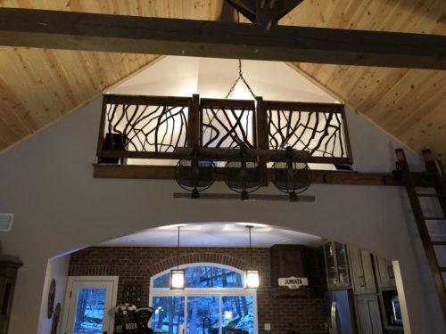Great Room Timber Loft