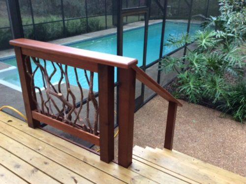 Guardrail And Swimming Pool