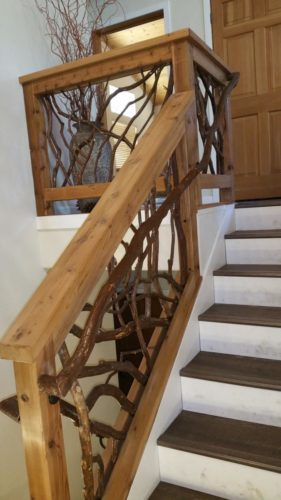 Lake Tahoe Staircase Railing
