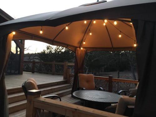 Lights On Umbrella