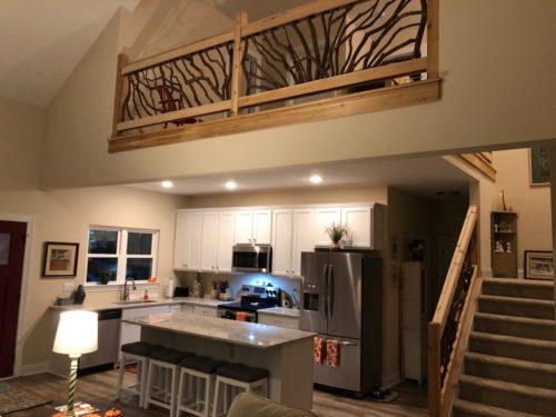 Living Room Balcony Handrails
