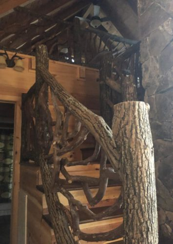 Locust Logs With Bark For Railing And Posts